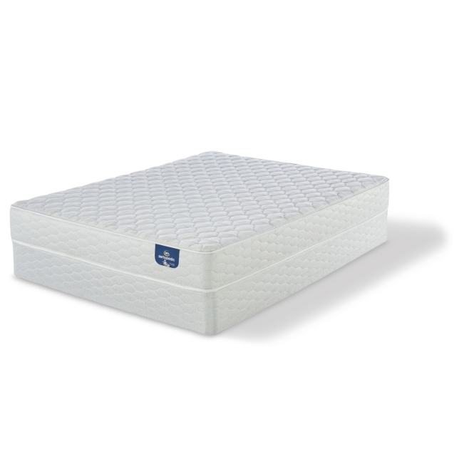 Serta Chrome Firm Full Size Mattress Set Free Shipping Today 17268261
