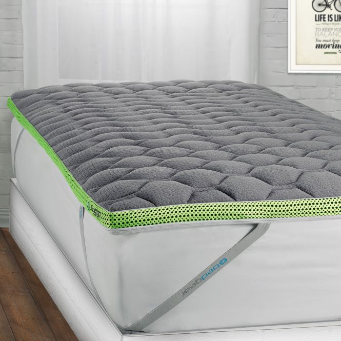 Bedgear Fusion Dri Tec 2 Inch Twin Xl Size Latex Mattress Topper Free Shipping Today 18796940
