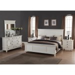 Regitina White 5 Piece King Size Bedroom Furniture Set Overstock 12602707