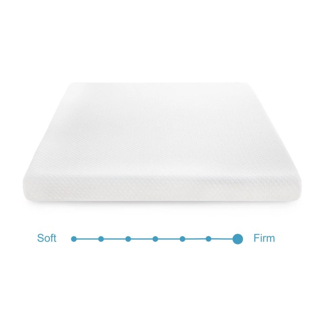 Linenspa 5 Inch Twin Size Gel Memory Foam Mattress Free Shipping Today 19904433