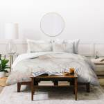 Shop Silver Orchid Sussin Rose Gold Marble Duvet Cover Set On Sale Overstock 30786713