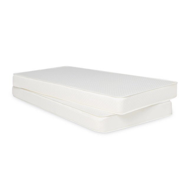 Select Luxury Flippable 6 Inch White Bunk Bed Twin Size Foam Mattress Free Shipping Today 11937491