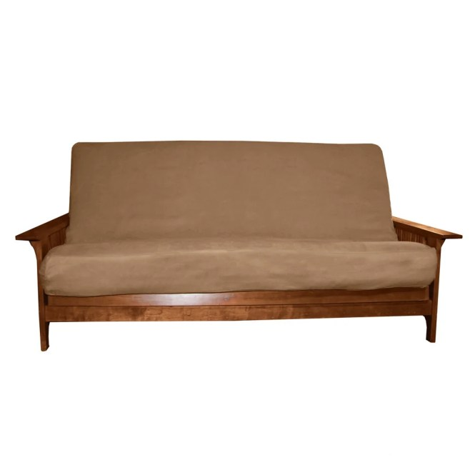 Ultima Better Fit Full Size Microfiber Futon Mattress Cover Free Shipping Today 12354977