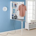 Wall Mounted Ironing Board And Storage Center Overstock 4656487