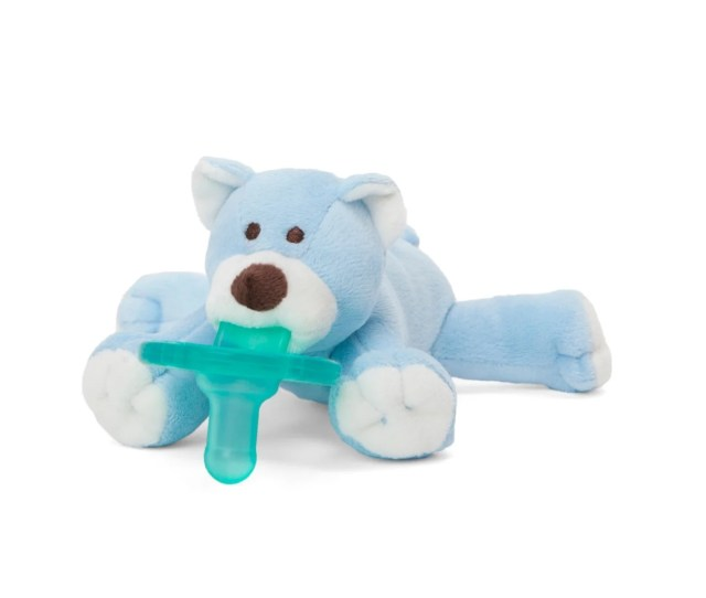 Shop Wubbanub Teddy Bear Pacifier Free Shipping On Orders Over  Overstock Com