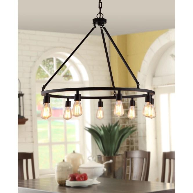 Shea Bronze Edison Bulb 9 Light Chandelier Free Shipping Today 14430970