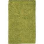Hand Woven Arriba Lime Green Wool Area Rug 5 X 8 Surplus