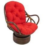 Blazing Needles 48 Inch Swivel Rocker Cushion 48 L X 24 W X 5 D Overstock 7967323