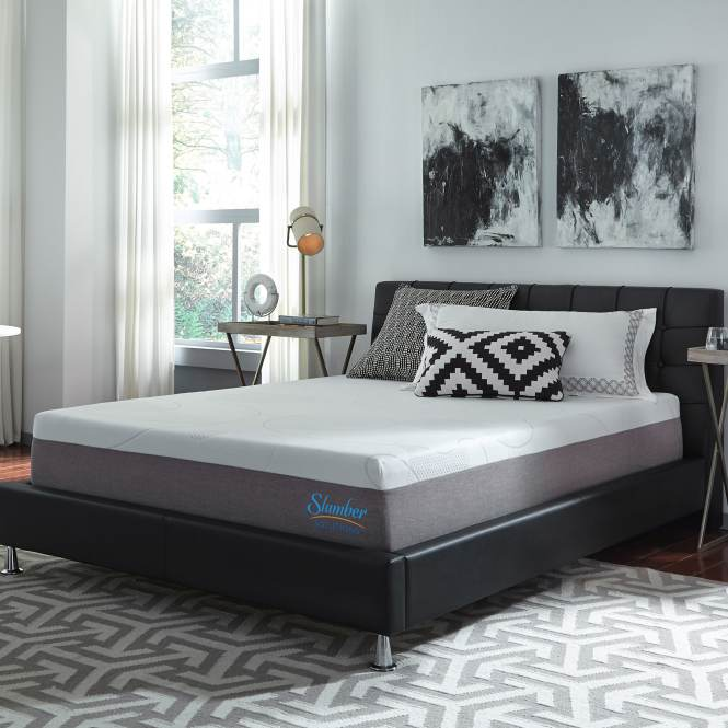 Slumber Solutions Choose Your Comfort 12 Inch Full Size Memory Foam Mattress Free Shipping Today 15580407