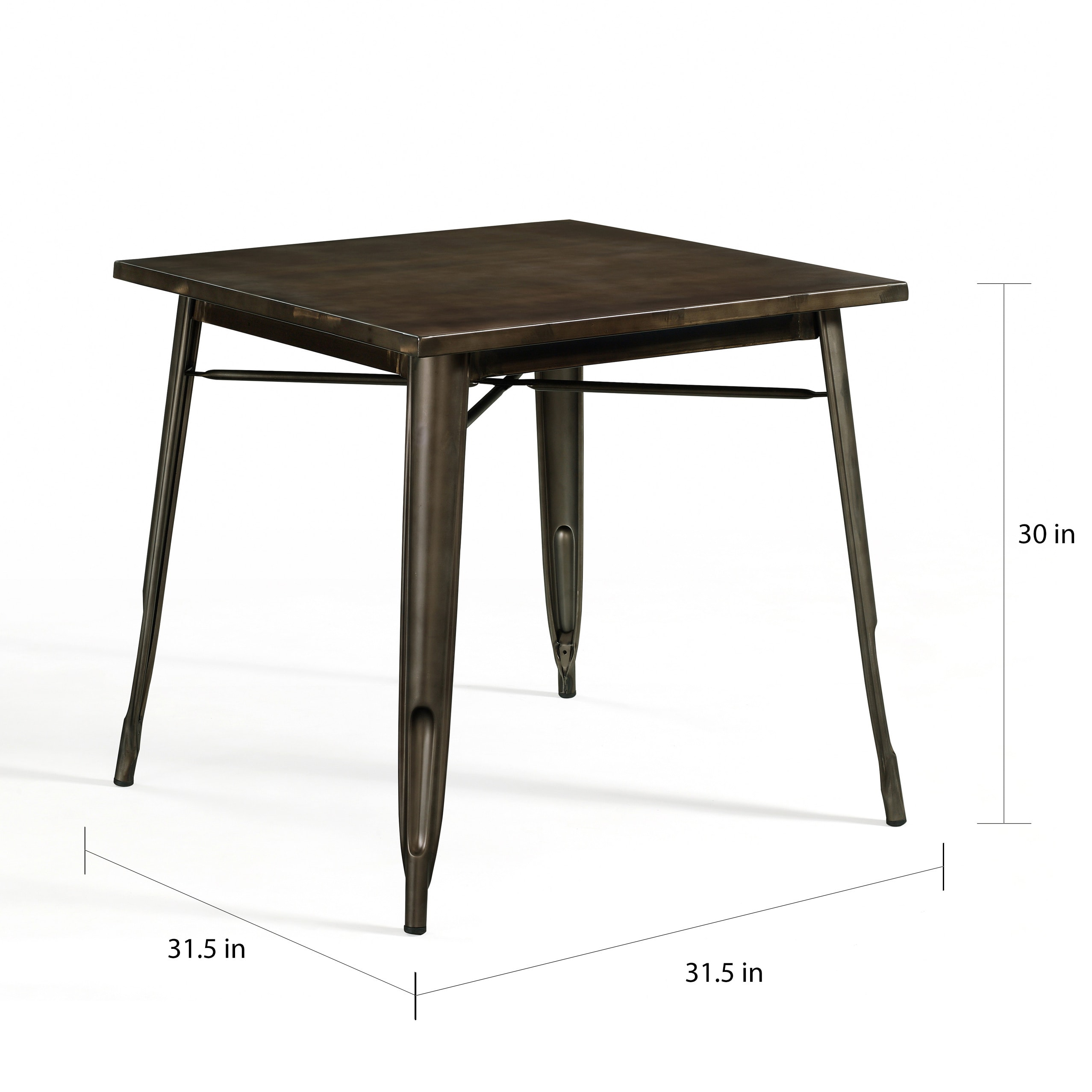 shop tabouret vintage bistro dining table free shipping today overstock com 8984163