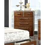 Shop Furniture Of America Anye Industrial Style 6 Drawer Chest Free Shipping Today Overstock 10001032