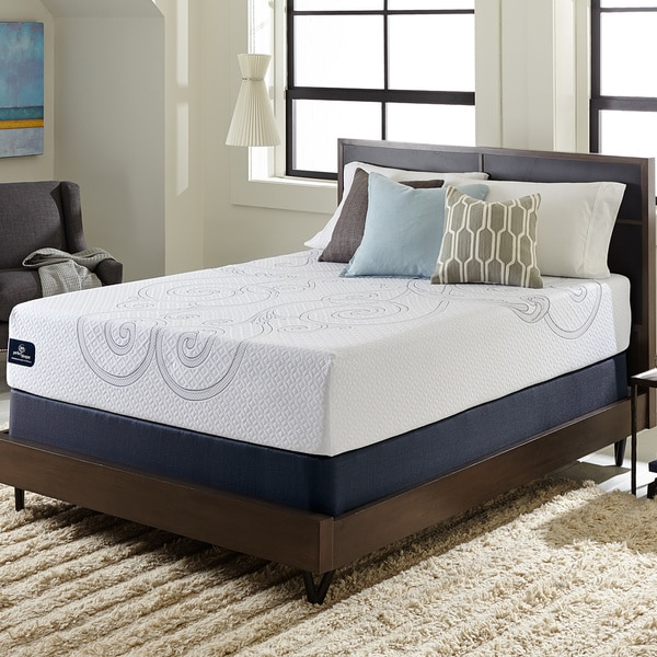 Serta Perfect Sleeper Isolation Elite 12 Inch Full Size Gel Memory Foam Mattress Set