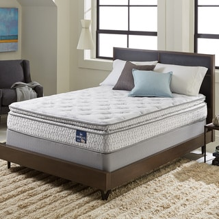 Serta Extravagant Pillowtop Queen Size Mattress Set