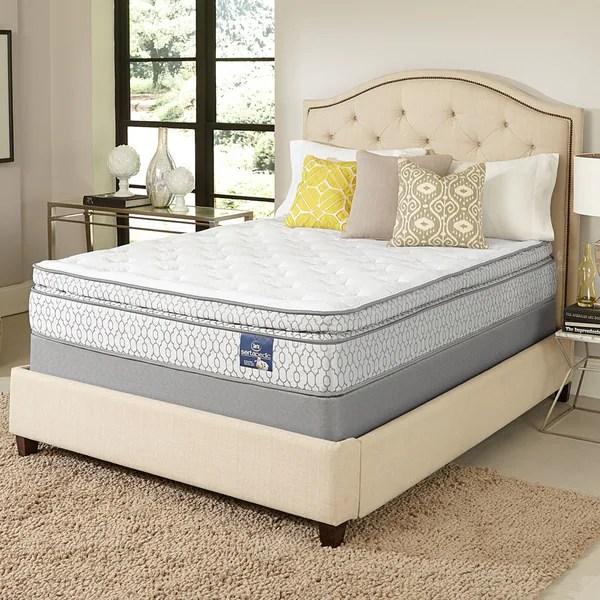 Serta Amazement Pillow Top Queen Size Mattress Set