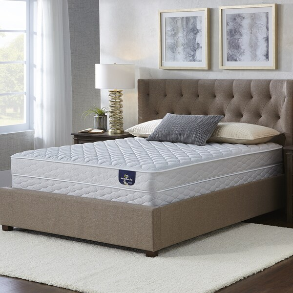 Serta Chrome Firm King Size Mattress Set