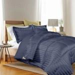 Reversible Light Steel Blue Medallion Down Alternative Comforter Set Bedding 3 Sizes Zigndigital No