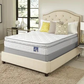Serta Amazement Pillowtop California King Size Mattress Set