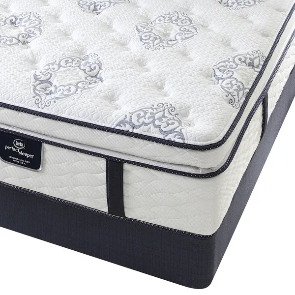 Serta Perfect Sleeper Elite Infuse Super Pillow Top Full Size Mattress Set Free Shipping Today 17296378