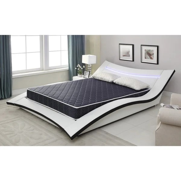 6 Inch Full Size Foam Mattress Covered In A Waterproof Fabric