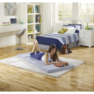 Simmons Beautysleep Great Rest Roll Up Twin Size Memory Foam Bed