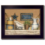 Details About Wall Art Decor Bathroom Home Rustic Farmhouse Country Primitive Gift New