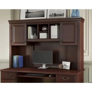 Shop kathy ireland Office Bennington Hutch   Free Shipping Today     kathy ireland Office Bennington Hutch
