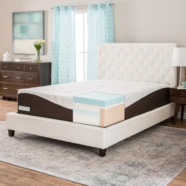 Comforpedic From Beautyrest 14 Inch Full Size Gel Memory Foam Mattress