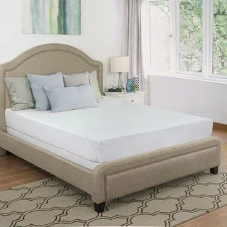 Maxrest Eco Friendly 8 Inch California King Size Gel Memory Foam Mattress