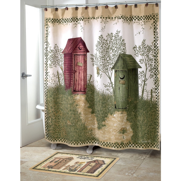 Shop Avanti Outhouses Shower Curtain Free Shipping On Orders Over 45 Overstock 10391339