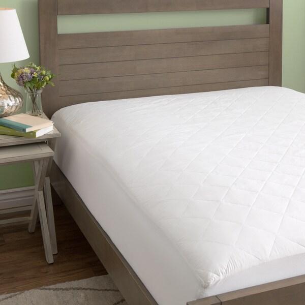 European Heritage 100 Percent Cotton Mattress Pad Standard Or Extra Deep Fit