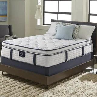 Serta Perfect Sleeper Elite Infuse Super Pillowtop Queen Size Mattress Set