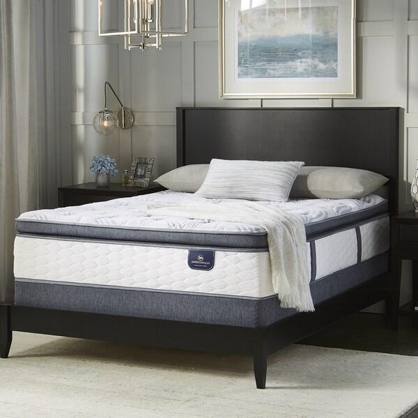 Serta Perfect Sleeper Wayburn Super Pillow Top King Size Mattress Set
