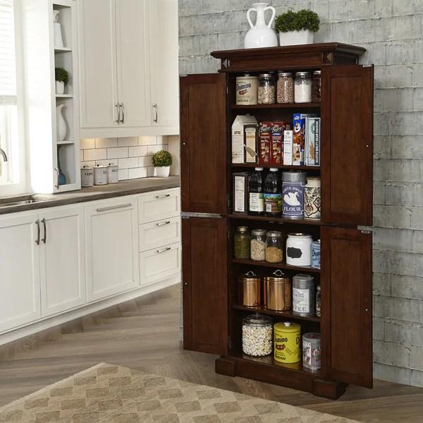 Gracewood Hollow Ruddick Cherry Kitchen Pantry Overstock 20882530