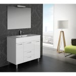 Eviva Venus 36 White Modern Bathroom Vanity Wall Mount With White Integrated Porcelain Sink Overstock 10707618
