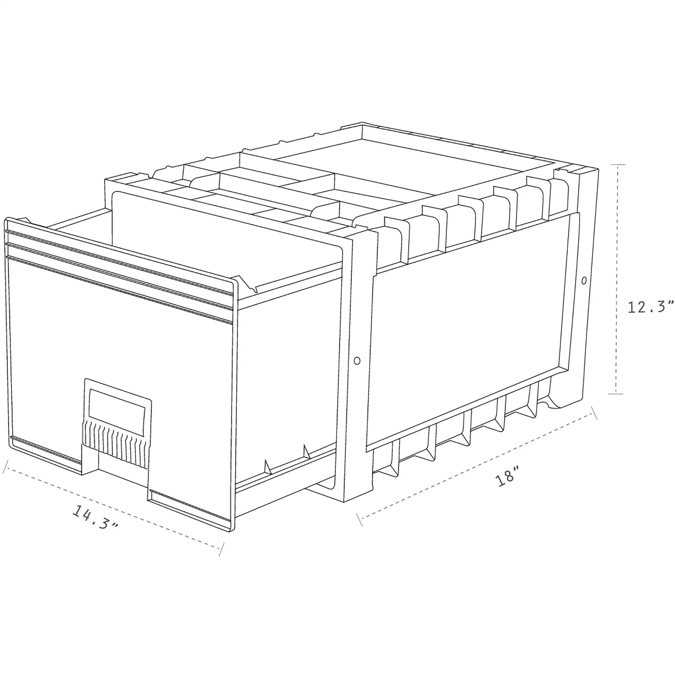 Cabinet Lock Diagram