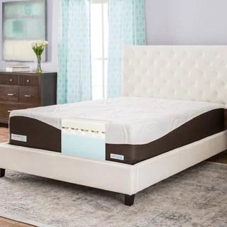Comforpedic From Beautyrest 14 Inch Queen Size Memory Foam Mattress