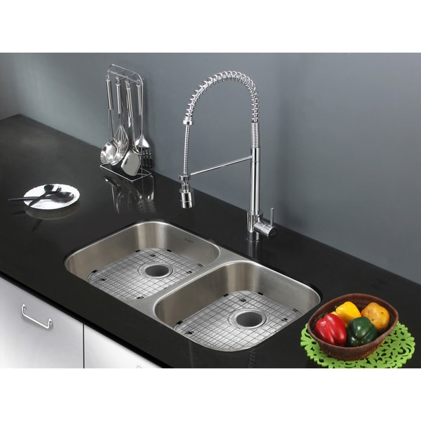 Rvm4300ada Inch Undermount Ada Compatible Double Bowl Kitchen Sink