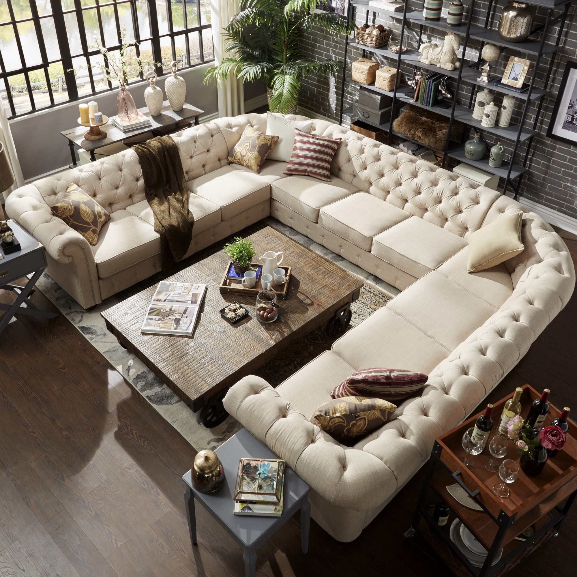 Buy U Shape Sectional Sofas Online At Overstock Our Best