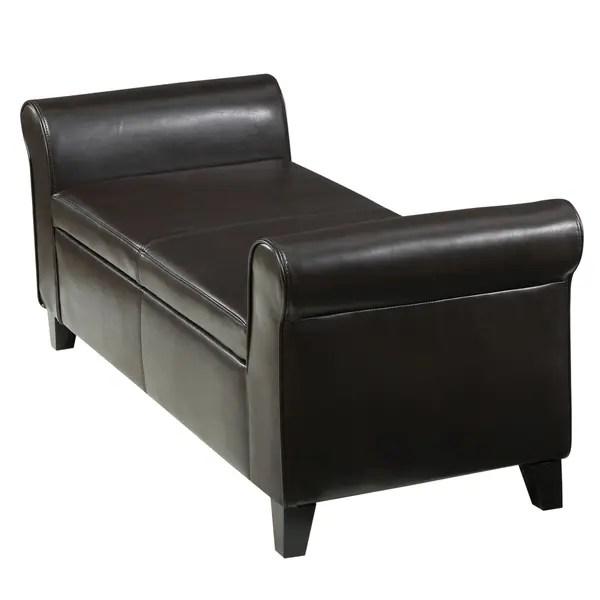 torino contemporary upholstered storage