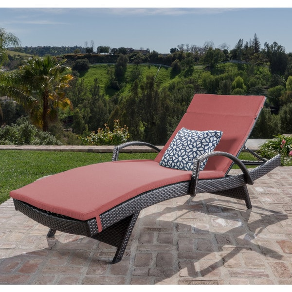 buy red outdoor chaise lounges online