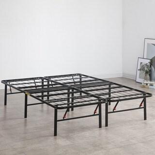 Postureloft Hercules Platform 14 Inch Heavy Duty Metal Bed Frame Mattress Foundation