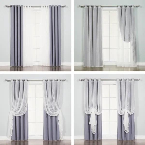 aurora home mix and match curtains