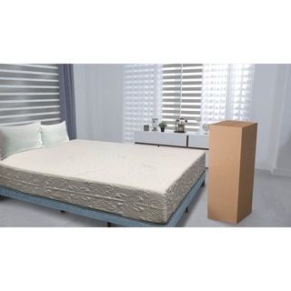 9 Inch Short Queen Size Memory Foam Mattress With Cover