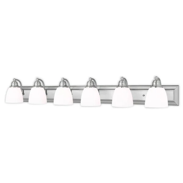 Filament Design Lenor 8-Light Polished Brass Incandescent Bath Vanity