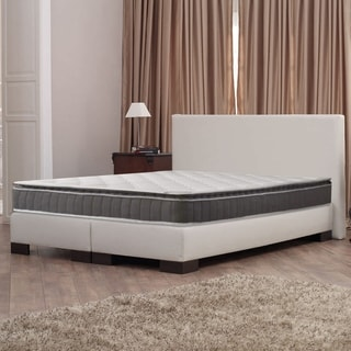 Acura Easy To Go Meduim Firm Pillowtop Twin Size Innerspring Mattress Set