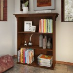 Bush Furniture Mission Creek Collection 3 Shelf Bookcase In Cherry