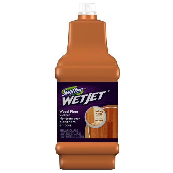 Shop Swiffer 23682 125 Liter Swiffer WetJet Wood Floor