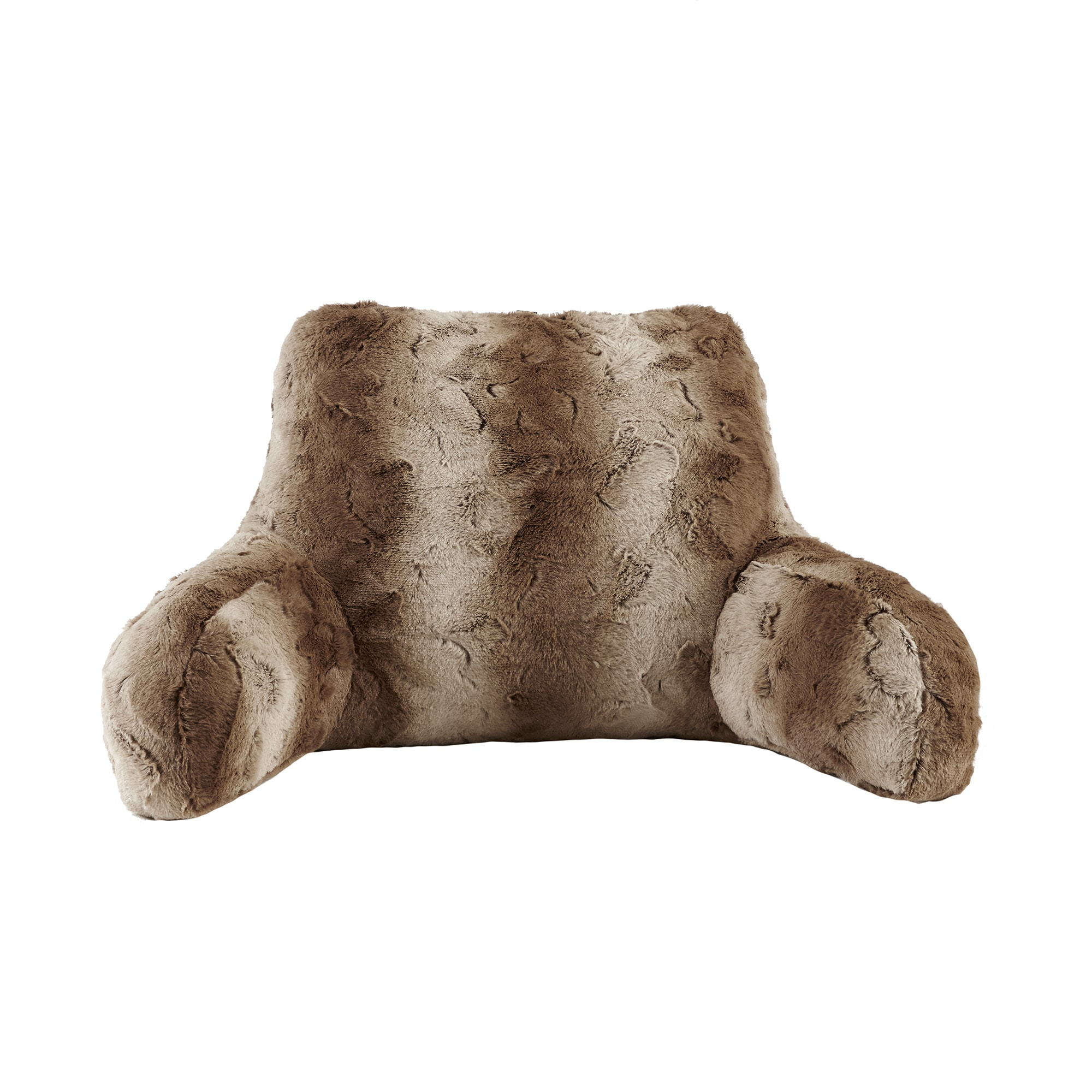 Shop Madison Park Marselle Faux Fur Backrest Pillow 3 Color Options Ships To Canada Overstock Ca 12489050
