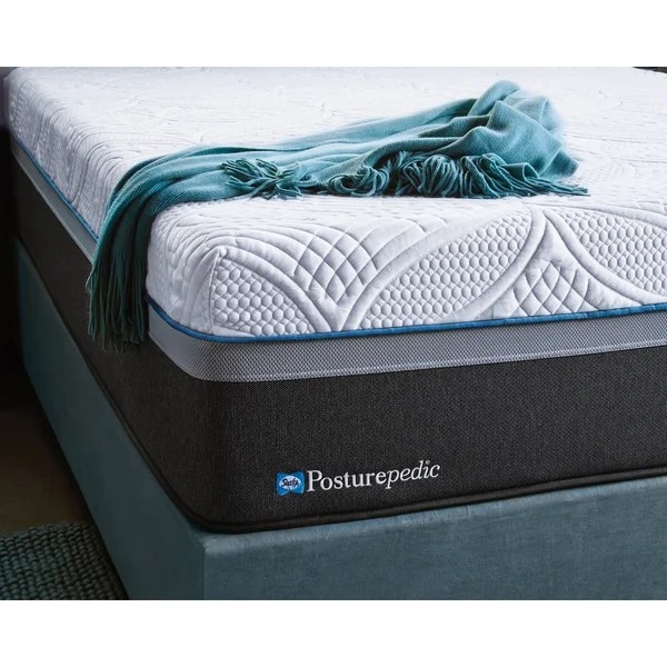 Sealy Posturepedic Hybrid Cobalt Firm Queen Size Mattress Free Shipping Today 19326596