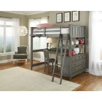 Lake House Twin Loft With Desk By Hillsdale Kids And Teen Overstock 12546905